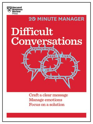 cover image of Difficult Conversations