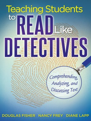 cover image of Teaching Students to Read Like Detectives