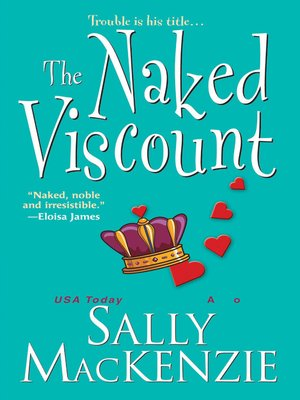 cover image of The Naked Viscount