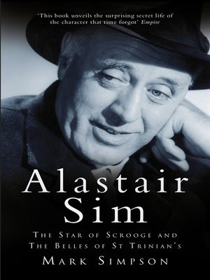 cover image of Alastair Sim