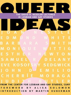 cover image of Queer Ideas