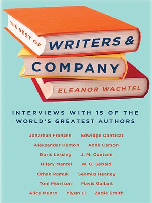 cover image of The Best of Writers and Company