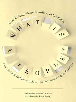 cover image of What Is a People?