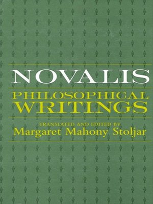 cover image of Novalis
