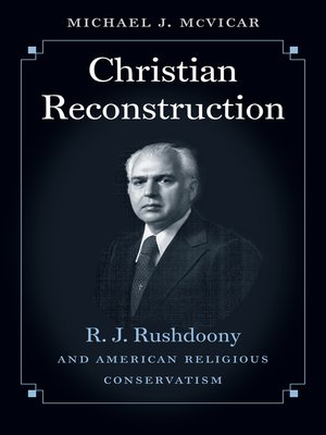 cover image of Christian Reconstruction