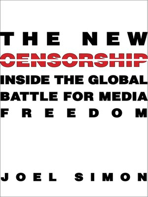 cover image of The New Censorship
