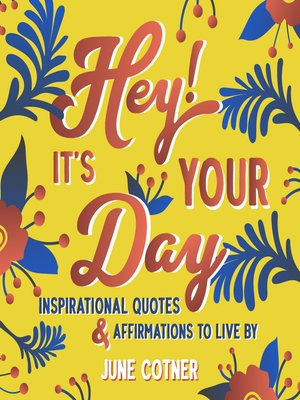 cover image of Hey! It's Your Day