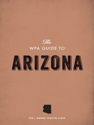 cover image of The WPA Guide to Arizona