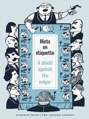 cover image of Hints on Etiquette