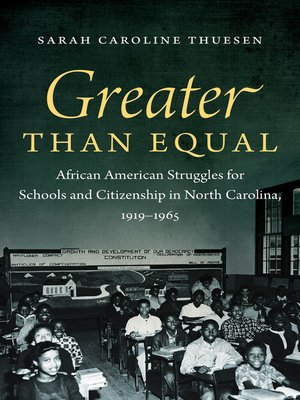 cover image of Greater than Equal