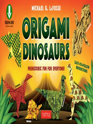 cover image of Origami Dinosaur
