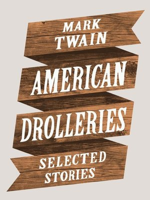 cover image of American Drolleries