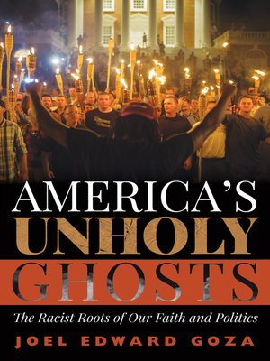 cover image of America's Unholy Ghosts