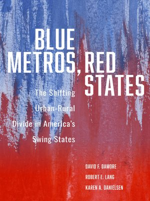 cover image of Blue Metros, Red States