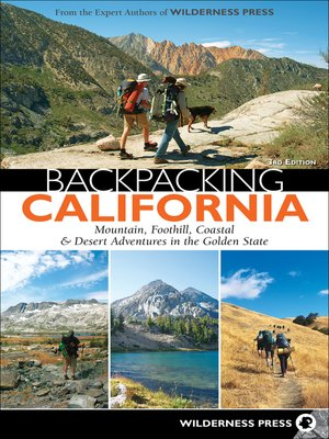 cover image of Backpacking California