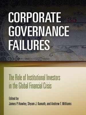 cover image of Corporate Governance Failures