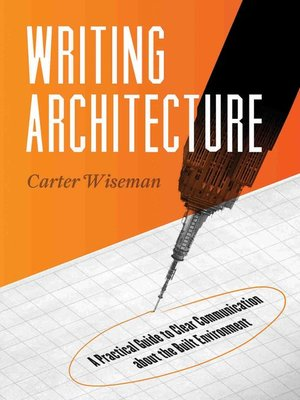 cover image of Writing Architecture
