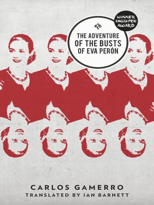 cover image of The Adventure of the Busts of Eva Perón