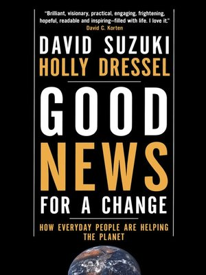 cover image of Good News for a Change