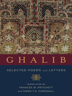 cover image of Ghalib