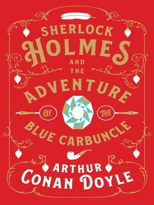 cover image of Sherlock Holmes and the Adventure of the Blue Carbuncle