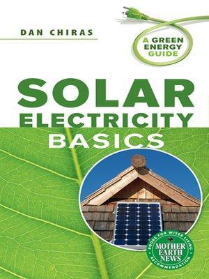 cover image of Solar Electricity Basics