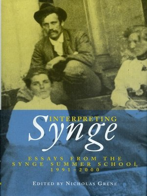 cover image of Interpreting Synge