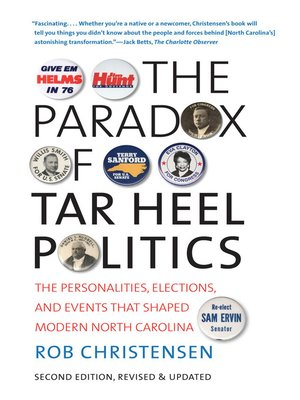 cover image of The Paradox of Tar Heel Politics