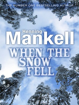 cover image of When the Snow Fell