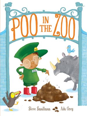 cover image of Poo in the Zoo