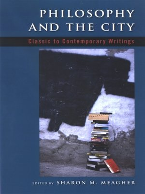 cover image of Philosophy and the City