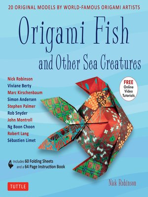 cover image of Origami Fish and Other Sea Creatures Ebook