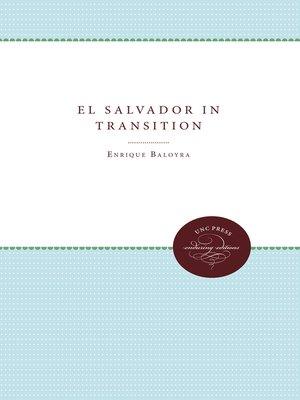 cover image of El Salvador in Transition