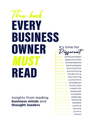 cover image of The Book Every Business Owner Must Read