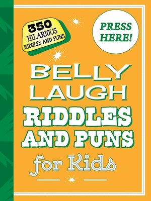 cover image of Belly Laugh Riddles and Puns for Kids