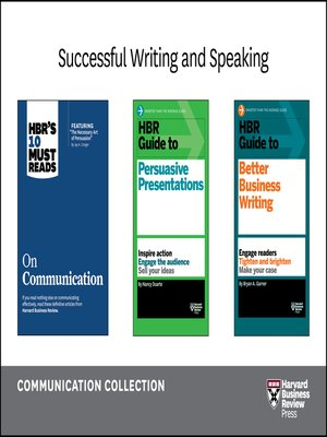 cover image of Successful Writing and Speaking