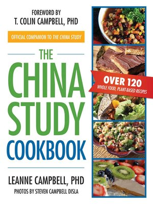 cover image of The China Study Cookbook