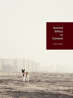 cover image of Animal Ethics in Context