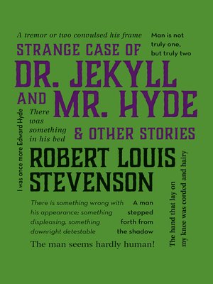cover image of Strange Case of Dr. Jekyll and Mr. Hyde & Other Stories