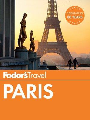 cover image of Fodor's Paris