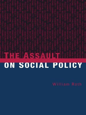 cover image of The Assault on Social Policy