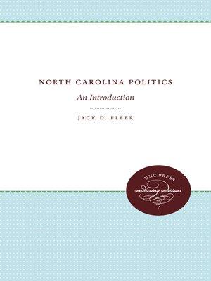 cover image of North Carolina Politics
