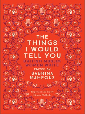 cover image of The Things I Would Tell You