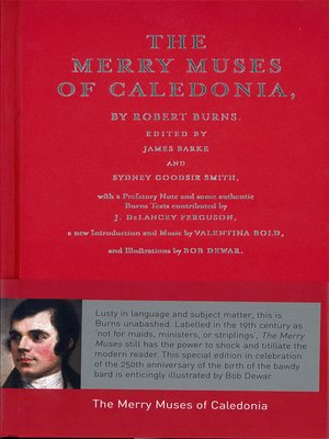cover image of The Merry Muses of Caledonia