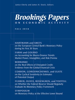 cover image of Brookings Papers on Economic Activity