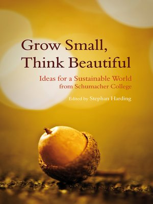cover image of Grow Small, Think Beautiful
