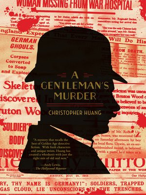 cover image of A Gentleman's Murder