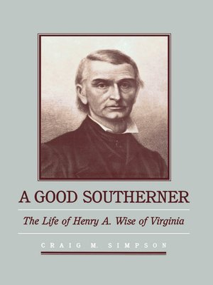 cover image of A Good Southerner
