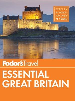 cover image of Fodor's Essential Great Britain