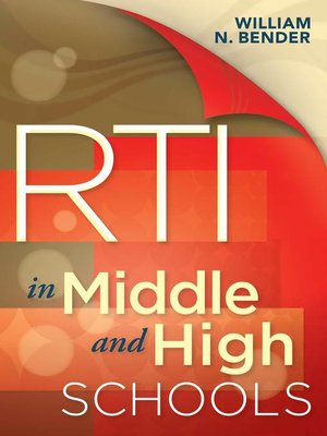 cover image of RTI in Middle and High Schools